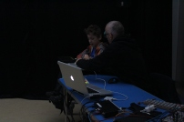 Controlling the tech desk!