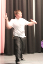 Creating sound through dance